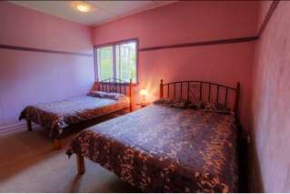 The bedrooms at James Farmhouse Accommodation